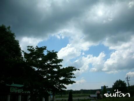 雲が出てきましたねぇ〜
