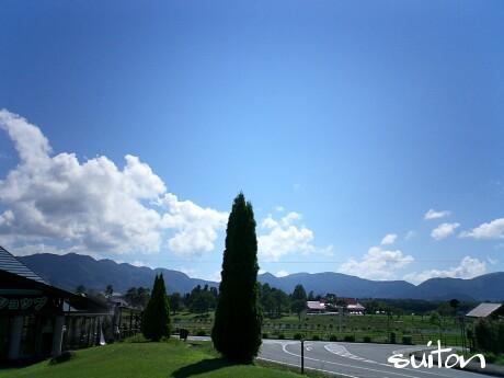 真夏の空だねぇ〜(笑)