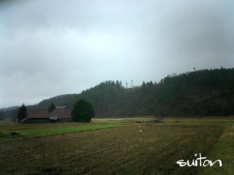 ドヨ〜ンとした冬の風景?