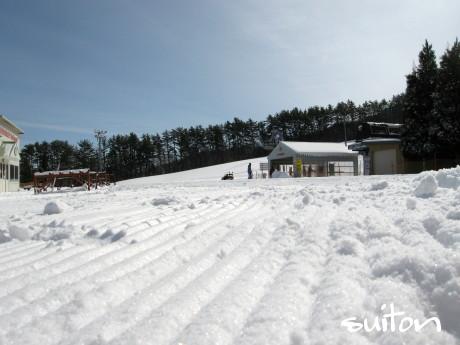 圧雪もバッチリです!