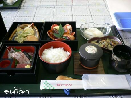 政管検診あとの食事2008!