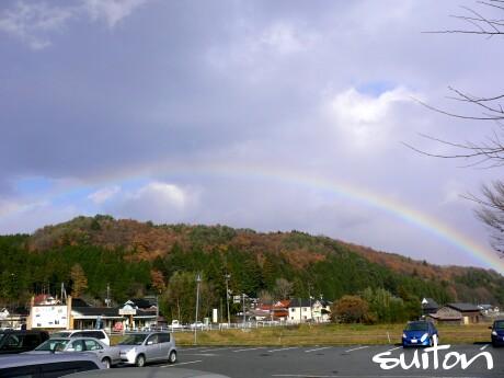 二時頃の虹(シャレ抜き 笑)