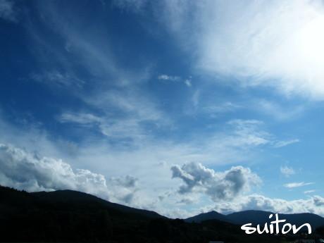 夏〜って感じの空です2011!