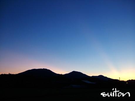 蒜山三座の夜明け2011.7.11