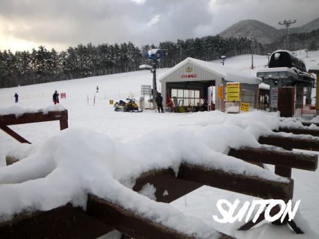 板立にも積雪が!